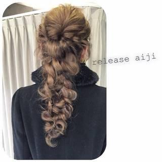 アンティーク コンサバ 外国人風 大人かわいい ヘアスタイルや髪型の写真・画像