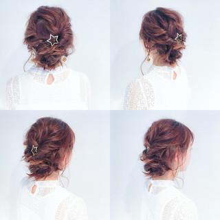 大人かわいい ルーズ フェミニン ミディアム ヘアスタイルや髪型の写真・画像
