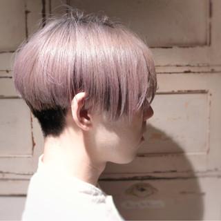 ハイトーン ショート モード メンズ ヘアスタイルや髪型の写真・画像 ヘアスタイルや髪型の写真・画像