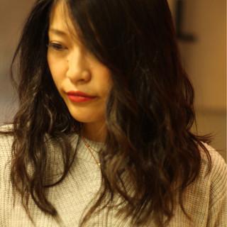 ゆるふわ アンニュイ ナチュラル ガーリー ヘアスタイルや髪型の写真・画像