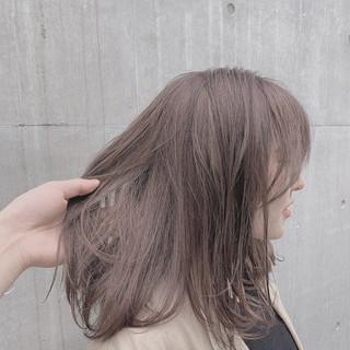 外国人風カラー グレージュ 透明感カラー ブルーラベンダー ヘアスタイルや髪型の写真・画像 ヘアスタイルや髪型の写真・画像