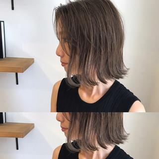 ボブ 女子会 外ハネ モード ヘアスタイルや髪型の写真・画像