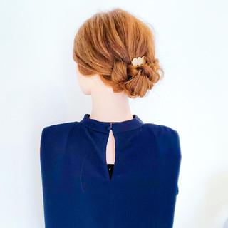 上品 結婚式 デート エレガント ヘアスタイルや髪型の写真・画像 | 美容師HIRO/Amoute代表 / Amoute/アムティ