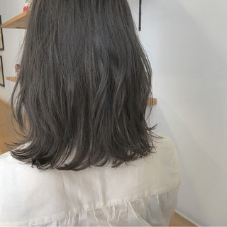 秋 透明感 ナチュラル ロブ ヘアスタイルや髪型の写真・画像 ヘアスタイルや髪型の写真・画像