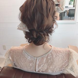 デート 結婚式 大人かわいい ナチュラル ヘアスタイルや髪型の写真・画像 ヘアスタイルや髪型の写真・画像
