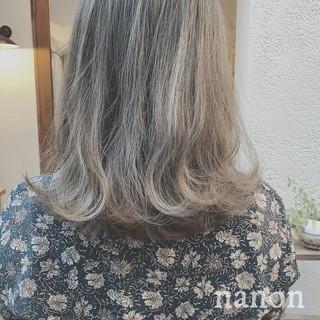 透明感 秋 冬 大人かわいい ヘアスタイルや髪型の写真・画像