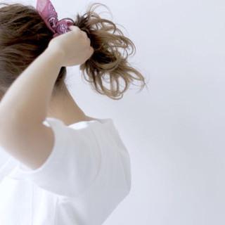 ショート ミディアム ゆるふわ 外国人風 ヘアスタイルや髪型の写真・画像 ヘアスタイルや髪型の写真・画像