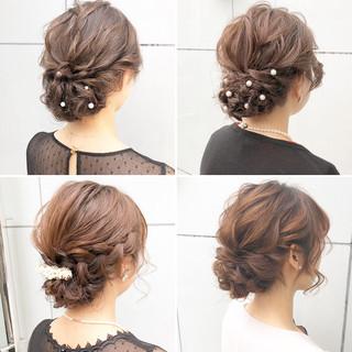 簡単ヘアアレンジ 結婚式 ロング アンニュイほつれヘア ヘアスタイルや髪型の写真・画像 ヘアスタイルや髪型の写真・画像