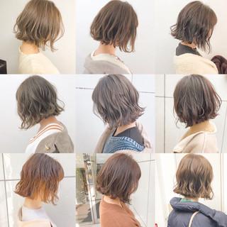 デート ナチュラル アンニュイほつれヘア 切りっぱなし ヘアスタイルや髪型の写真・画像