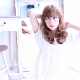 愛され 大人かわいい ナチュラル ガーリー ヘアスタイルや髪型の写真・画像 ヘアスタイルや髪型の写真・画像