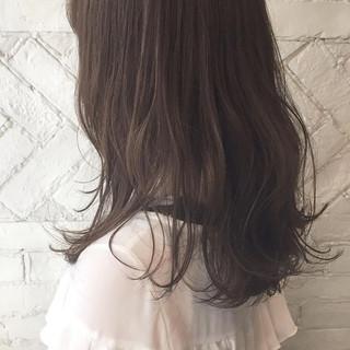 アンニュイ グレージュ 夏 ヘアアレンジ ヘアスタイルや髪型の写真・画像