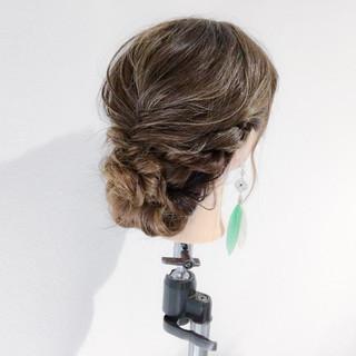 ギブソンタック 女子会 エレガント デート ヘアスタイルや髪型の写真・画像