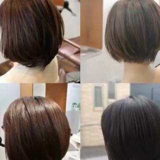 大人女子 色気 ナチュラル ストレート ヘアスタイルや髪型の写真・画像
