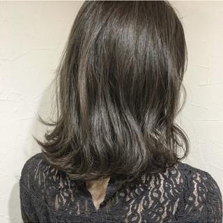 ボブ ナチュラル 色気 ミディアム ヘアスタイルや髪型の写真・画像 ヘアスタイルや髪型の写真・画像