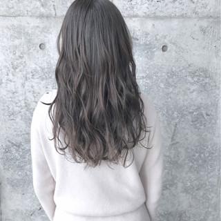 外国人風 グレージュ アッシュグレージュ 外国人風カラー ヘアスタイルや髪型の写真・画像