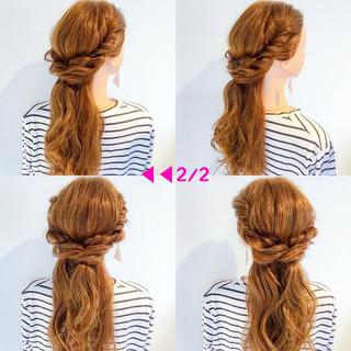 オフィス ヘアアレンジ デート 簡単ヘアアレンジ ヘアスタイルや髪型の写真・画像 ヘアスタイルや髪型の写真・画像