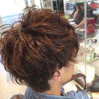 ショート ナチュラル メンズ パーマ ヘアスタイルや髪型の写真・画像 ヘアスタイルや髪型の写真・画像