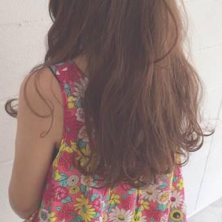 モテ髪 ナチュラル ストリート ゆるふわ ヘアスタイルや髪型の写真・画像