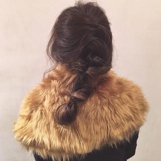 ショート ヘアアレンジ 暗髪 簡単ヘアアレンジ ヘアスタイルや髪型の写真・画像 ヘアスタイルや髪型の写真・画像