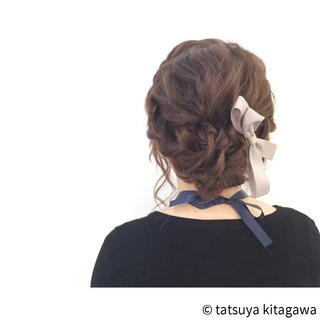 ガーリー 外国人風 セミロング ハイライト ヘアスタイルや髪型の写真・画像