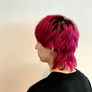 ショート メンズスタイル メンズヘア マッシュウルフ ヘアスタイルや髪型の写真・画像