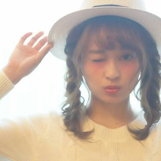 おフェロ ショート 簡単ヘアアレンジ ヘアアレンジ ヘアスタイルや髪型の写真・画像