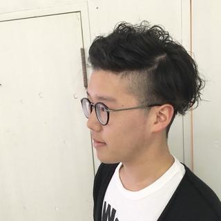 ショート ストリート パーマ 坊主 ヘアスタイルや髪型の写真・画像
