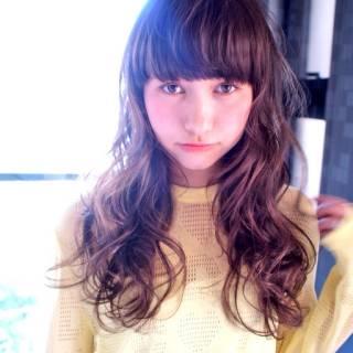 ナチュラル ガーリー モテ髪 外国人風 ヘアスタイルや髪型の写真・画像