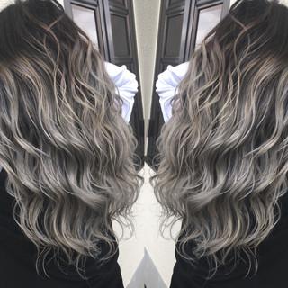 ロング スポーツ ウェーブ ストリート ヘアスタイルや髪型の写真・画像
