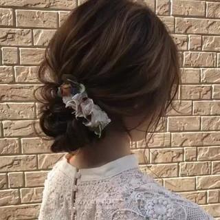 セミロング 大人かわいい 大人女子 コンサバ ヘアスタイルや髪型の写真・画像