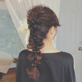 色気 秋 エレガント ロング ヘアスタイルや髪型の写真・画像