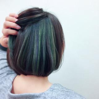 モード 秋 大人女子 ボブ ヘアスタイルや髪型の写真・画像
