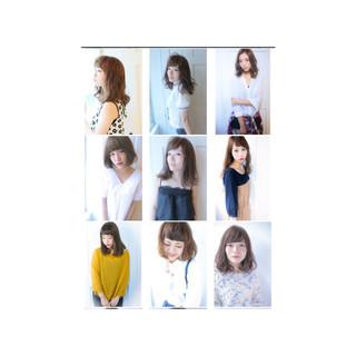 フェミニン 逆三角形 外国人風 ストリート ヘアスタイルや髪型の写真・画像