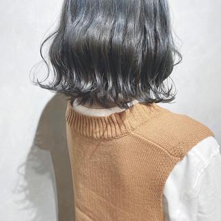 切りっぱなしボブ 外国人風カラー ボブ ミニボブ ヘアスタイルや髪型の写真・画像