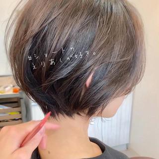 ゆるふわ デート 簡単ヘアアレンジ ショートヘア ヘアスタイルや髪型の写真・画像