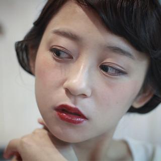 大人女子 レトロ 外国人風 色気 ヘアスタイルや髪型の写真・画像