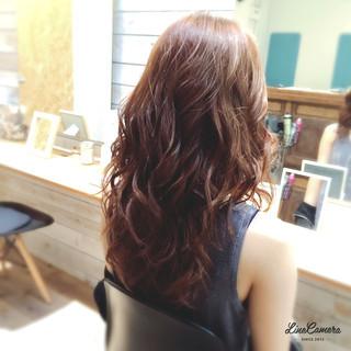 大人かわいい セミロング 巻き髪 ゴージャス ヘアスタイルや髪型の写真・画像