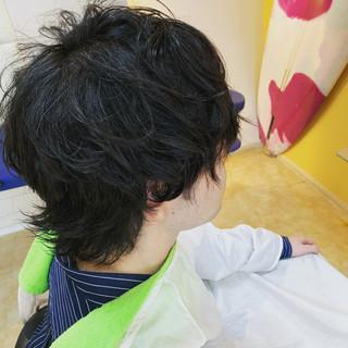 ベリーショート ショート ウルフカット ショートヘア ヘアスタイルや髪型の写真・画像