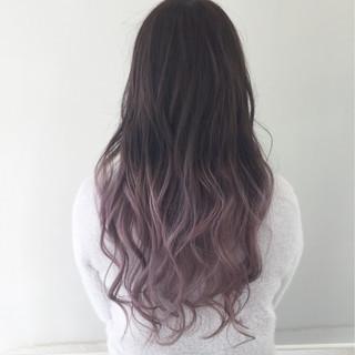 ガーリー 外国人風 フェミニン ピンク ヘアスタイルや髪型の写真・画像