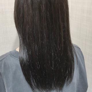 アッシュ 美髪 外国人風カラー トリートメント ヘアスタイルや髪型の写真・画像