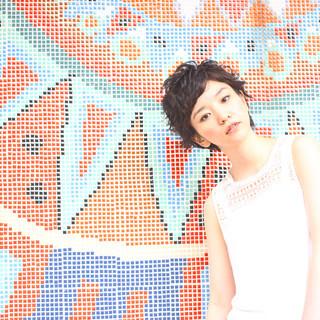 ヘアアレンジ 小顔 夏 似合わせ ヘアスタイルや髪型の写真・画像