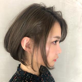 ナチュラル 簡単ヘアアレンジ ボブ デート ヘアスタイルや髪型の写真・画像 ヘアスタイルや髪型の写真・画像