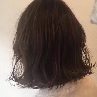 外国人風カラー こなれ感 デート ボブ ヘアスタイルや髪型の写真・画像