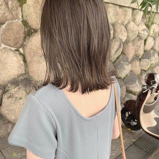 ミニボブ 切りっぱなしボブ ショートヘア ショートボブ ヘアスタイルや髪型の写真・画像