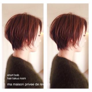 大人女子 ショート ベリーショート 色気 ヘアスタイルや髪型の写真・画像 ヘアスタイルや髪型の写真・画像