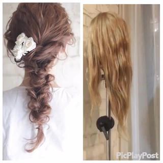 コンサバ パーティ 簡単ヘアアレンジ ショート ヘアスタイルや髪型の写真・画像