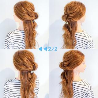 オフィス ロング デート フェミニン ヘアスタイルや髪型の写真・画像 ヘアスタイルや髪型の写真・画像