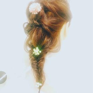 ヘアアレンジ 女子力 成人式 結婚式 ヘアスタイルや髪型の写真・画像