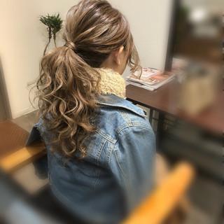 ヘアセット アップ ロング フェミニン ヘアスタイルや髪型の写真・画像