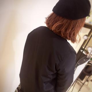 ボブ ミディアム デート 外ハネ ヘアスタイルや髪型の写真・画像